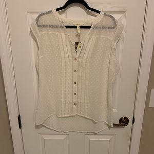 Matilda Jane cream top NWT